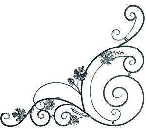 Кованые элементы, 13.401, купить, элементы ковки, розет, ковка, заготовки, детали, изделия